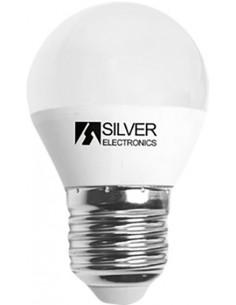 Lámpara esférica 961727 led e27 7,0w 5000k de silver sanz caja