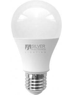 Lámpara estándar 980427 led e27 20w 3000k de silver sanz caja