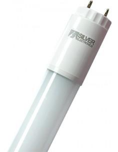 Tubo eco led t8 g13 0589mm 09w 6000k de silver sanz caja de 20