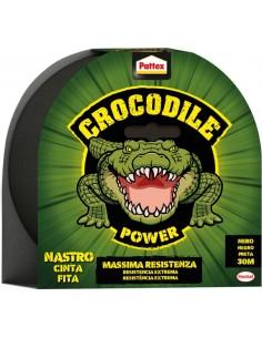 Cinta adhesiva crocodile 2502183 48mmx30m negra de pattex caja