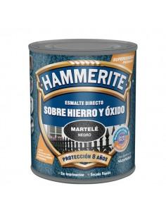Hammerite metalico martele 750ml negro de xylazel caja de 6