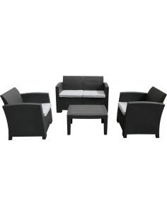 Conjunto siena resina 3 sofas+mesa kch403 de chillvert