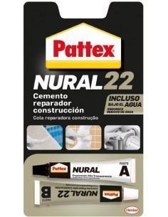 Nural 22 22ml 2475342 cemento reparador bajo agua de pattex