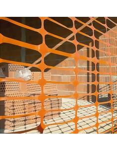 Malla señalización securmas 08 sp naranja 1x50m de nortene