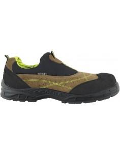 Zapato miami mud s1-p src color beige/negro talla 43 de cofra