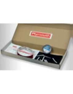 Kit empalme bt-6/14 8915 10mx19mm negra de plymouth