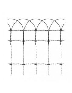 Malla galvanizada plastificada decorativa 1,7/2,2 1,2x25 de