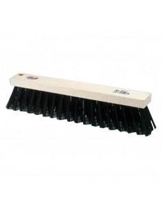Cepillo barrendero 1416 fibra negra sin mango de universal