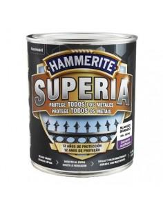 Hammerite superia satinado 750ml blanco caja de 3 unidades