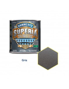 Hammerite superia forja 750ml gris caja de 3 unidades
