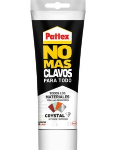 Pattex no+clavos 216gr.2480179 cristal de pattex caja de 12