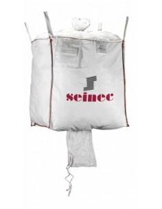 Saco big bag 85x85x90 1000kg blanco de seinec