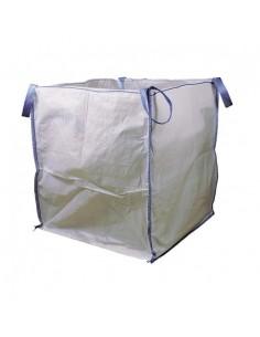 Saco big bag 90x90x100 1000kg blanco de tecnopacking