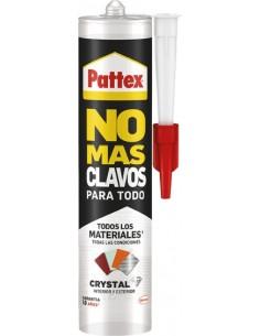 Pattex no+clavos 290gr.2472741 cristal de pattex caja de 12