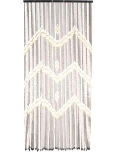 Cortina natural 1578 corfu 90x200cm de jarbric
