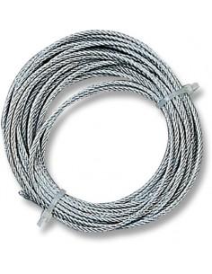 Cable acero galvanizado 2mm 6m para torno 06129002 de gaviota