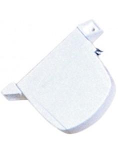 Recogedor abatible mini c-14 06011001 blanco de gaviota simbac