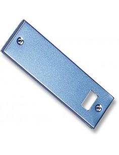 Placa recogedor metalico 06005001 aluminio de gaviota simbac