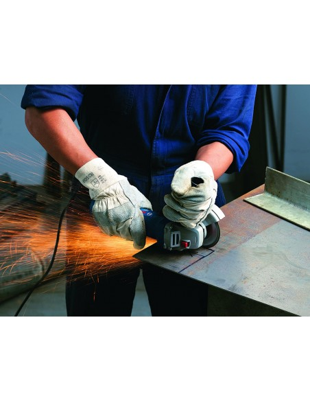 Amoladora mini gws-7/125 700w125mm + caja cartón de bosch bricolaje