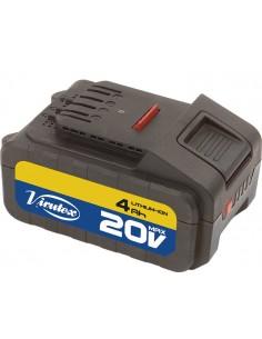 Bateria litio-ion 20v 4ah bt204 4068656 de virutex