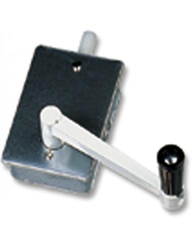 Torno empotrar elevación persiana 06120001 aluminio de gaviota