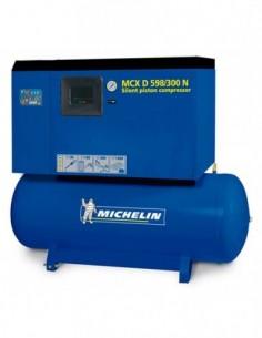 Compresor silencioso con calderín y secador CA-MCXD598/300N de