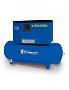 Compresor silencioso con calderín y secador CA-MCXD958/500N de