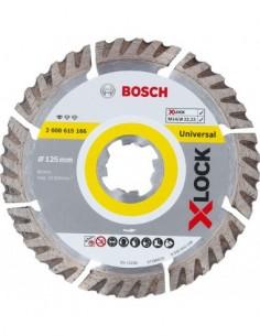 Disco diamante universal x-lock 125x22 de bosch construccion /