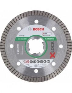 Disco diamante x-lock ceramico 115x22,2 de bosch construccion /