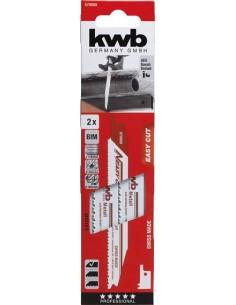 Hoja sierra sable 57990 p/tc-ap650e 130mm 2pz de kwb