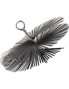 Cepillo espiral acero ø150 08661 de karpatools