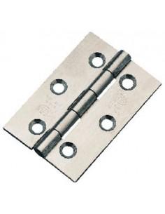 Bisagra 2002-070x050 acero inoxidable 18/8 de amig caja de 20