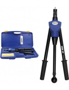 Remachadora manual gbm50+kit+maletin de gesipa