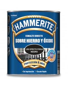 Hammerite liso efecto forja 750ml negro de hammerite caja de 6