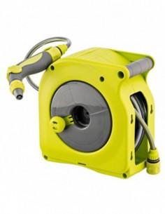 Mini enrollador manual 9805848 10mt verde de aqua