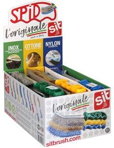 Cepillo spid acero inox/laton/nylon 0017 de spid caja de 21 unidades