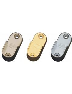 Soporte tubo armario 7-30 30x15 oro de amig caja de 50 unidades