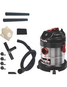 Aspirador seco/húmedo pro 20x 1250w 20l de cevik