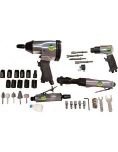 Kit herramientas neumáticas ne-kn580 34pz de cevik