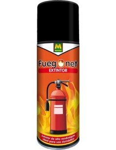 Extintor fuego a,b,e,f 231396 500gr de fuego net