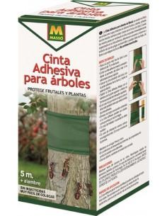 Cinta adhesiva para arboles 5m + alambre 231401 de garden caja
