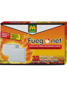 Pastillas encendido blanc.231522-32pz de fuego net caja de 28