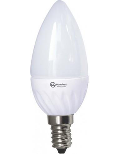 Lampara vela led e14 7,5w 4200k 230v de marca caja de 12