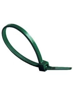 Brida nylon verde 4.5/4.8x290 bolsa 100 de norma