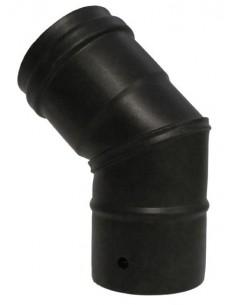 Codo deko pellet 45º 080mm de dinak