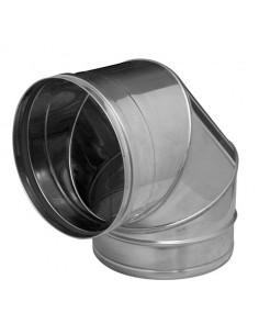 Codo sw pellet inoxidable 316l 90º 080mm con junta de dinak