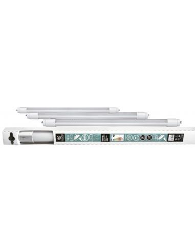 Tubo led t8 g13 060cm 09w 4200k de marca caja de 25 unidades