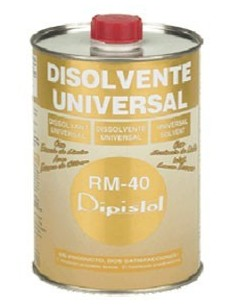 Disolvente universal rm-40 1/2l. de dipistol caja de 12 unidades