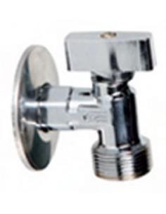 """Valvula escuadra lavadora 3090-1/2""""x3/4""""(l-85) de genebre caja"""