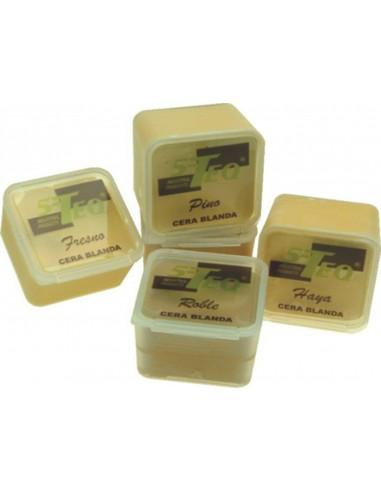 Taco cera blanda 101 24gr. blanco de 5-teq caja de 6 unidades